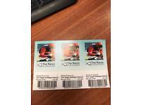 Aye Racecourse Family Fun Day Tickets x 3