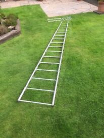 Aluminium Ladder 13 foot rolls up for easy storage