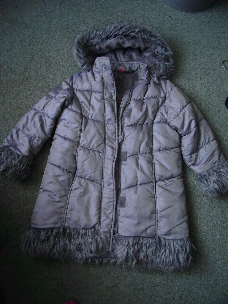 adans girl 7 old CHILDRENS coat