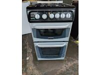 Black Cannon Gas Cooker (50cm) (6 Month Warranty)