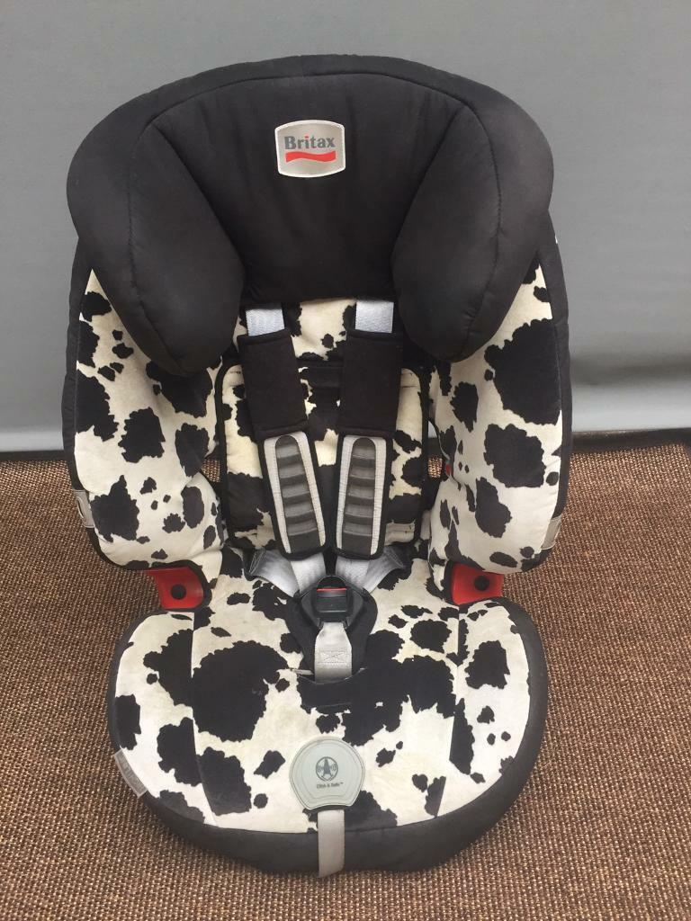 BRITAX Childrens Car Seat Cow Pattern