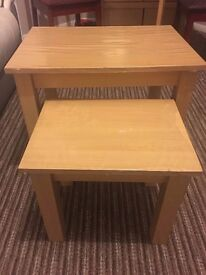 Two excellent condition coffee tables. Rarely used £10