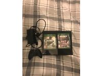 Xbox One 500gb, Xbox one controller, 2 games