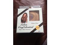 Salon confidential clip in hair extensions
