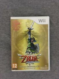Zelda Skyward Sword Wii Game