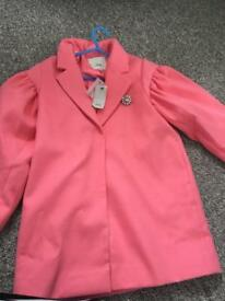 Girls river island jacket new