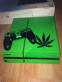 Customised Ganja PS4 (Mint Condition)