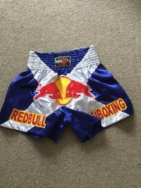 Red bull Thai boxing shorts