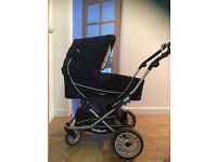 Emmaljunga pram carrycot and buggy