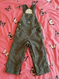 Baby Boy 12-18 Months Dungaree