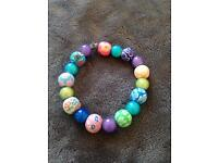 Colourful bead bracelet