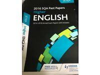 2016 SQA Higher English past papers