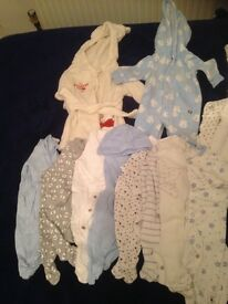 Baby boy clothes newborn-3 months. All new and never worn.