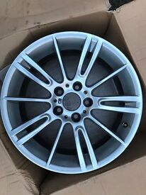 GENUINE BMW MV3 18 inch alloy wheel (Front) Hairline Cracked