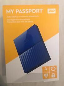 WD My Passport 4 TB