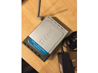 D-Link DWL900 + BEUC2 Wireless Access Point with Power Supply