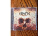 As I lay dying CDs