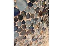 Brand new unopened Glass Pebble Mosaic Tiles