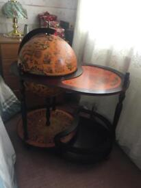 Wooden furniture bar