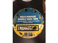 Mammoth heavy duty double sided tape