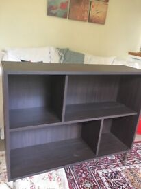 Bookcase - freestanding IKEA Valje, Black, perfect condition.