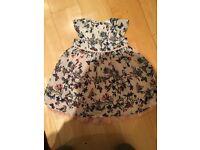Brand new baby dress 3-6