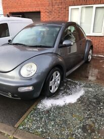 Volkswagen Beetle 1.9tdi PD engine, 12 months MOT no advisories!!