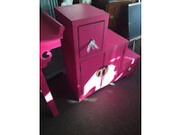 Brand New Nanjing Step Storage Cabinet - Aged Pink