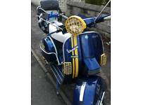 LML BADGED AS VESPA 125 TWO STROKE