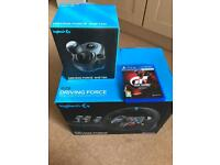 Logitech g29 steering wheel and gt sport PS4