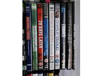Dvds of many titles for sale