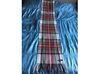 Burberry unisex large wool and cashmere scarf