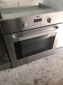 Stainless Steel Built in Electric Oven Zanussi Fully Working Order Just £40 Sittingbourne
