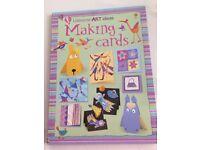 Making Cards. Usborne art ideas book