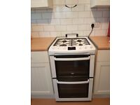 Zanussi ZCG551GWC Gas Cooker with Double Oven