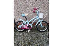 Girls 16 inch Apollo 'cherry lane' bike