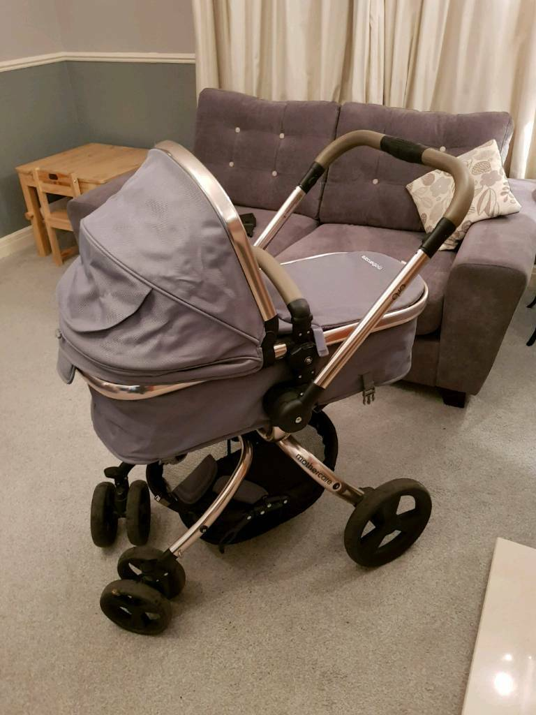 Mothercare Orb Rose Gold And Grey Pram Pushchair In