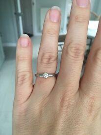 Beaverbrooks diamond ring size K