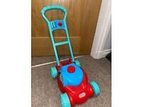 Little Tikes Push Along Mower Garden Toy
