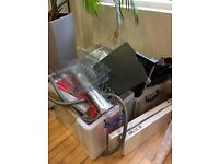 FREE OFFICE STUFF - PC CABLE TRAYS / LEVER ARCH FILES / PLASTIC WALLETS / IN TRAYS ALL SORTS