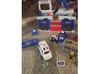 Emergency services playset