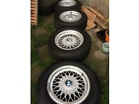 "£120 - 15"" genuine BMW alloys with good tyres"