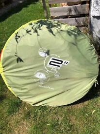 Decathlon 4 person pop up tent