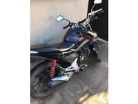 Honda cb125f /glr125