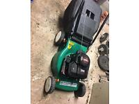 Petrol rotary lawn mower - serviced