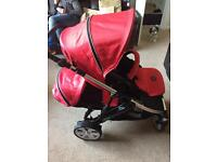 Double pram will accept offers over £120 .
