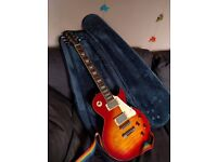 1995 Les Paul Cherry Sunburst Epiphone (with case and strap)