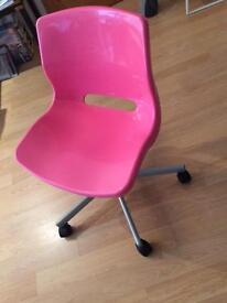 Cute Pink Desk Chair