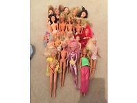 1980's Barbies & Sindys