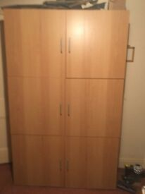 Wine cabinet - Large wooden cupboard with space for loads of bottles or other stuff